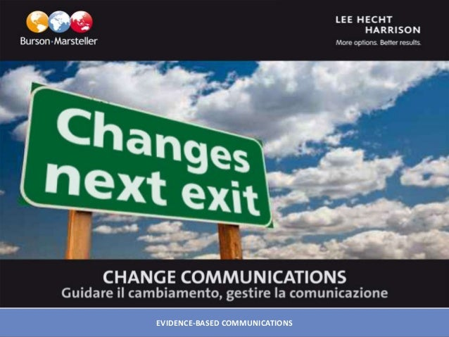 EVIDENCE -BASED COMMUNICATIONSEVIDENCE-BASED COMMUNICATIONS