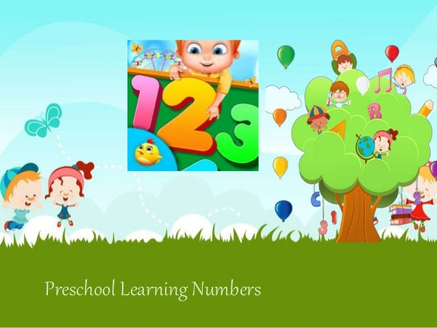 Preschool Learning Numbers