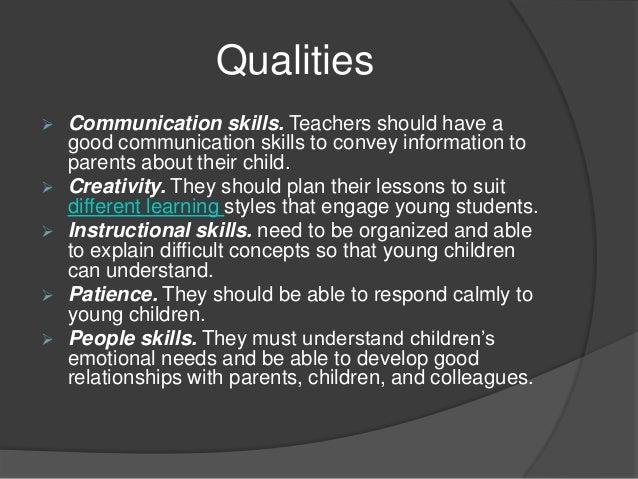 preschool teachers duties