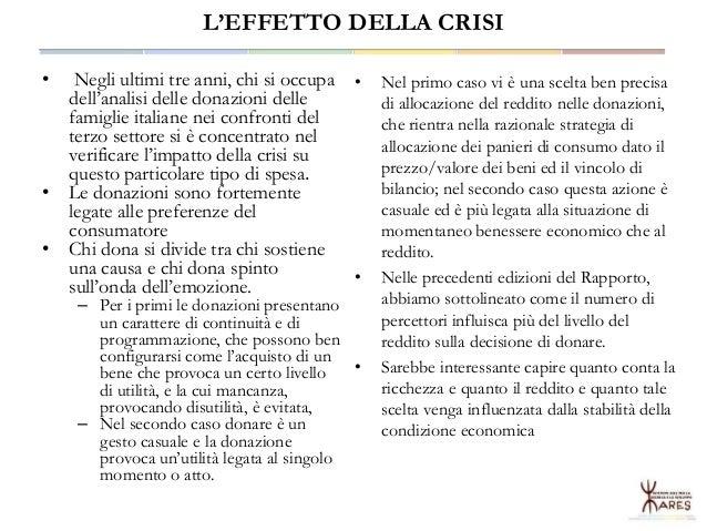 L'Economia Sociale in Sardegna fra crisi e nuovo sviluppo Slide 2