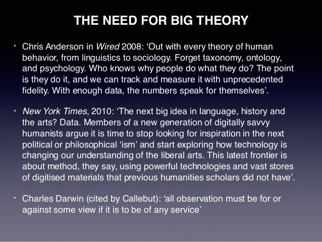 Big Data in the Arts and Humanities: Stirling presentation