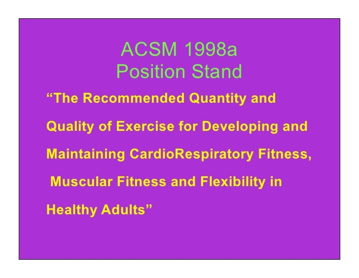 acsm guidelines for older adults
