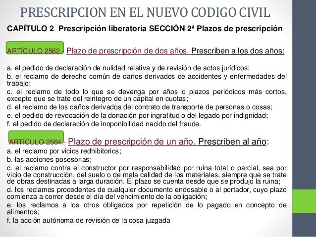 Prescripcion De Los Tributos Provinciales Y El Nuevo C C Y C
