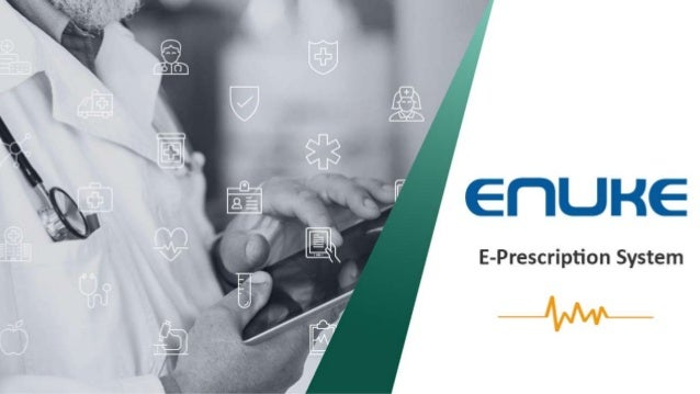 E-Prescription System E-prescription System is making Health Care easier because it seeks to connect all the patients' hea...