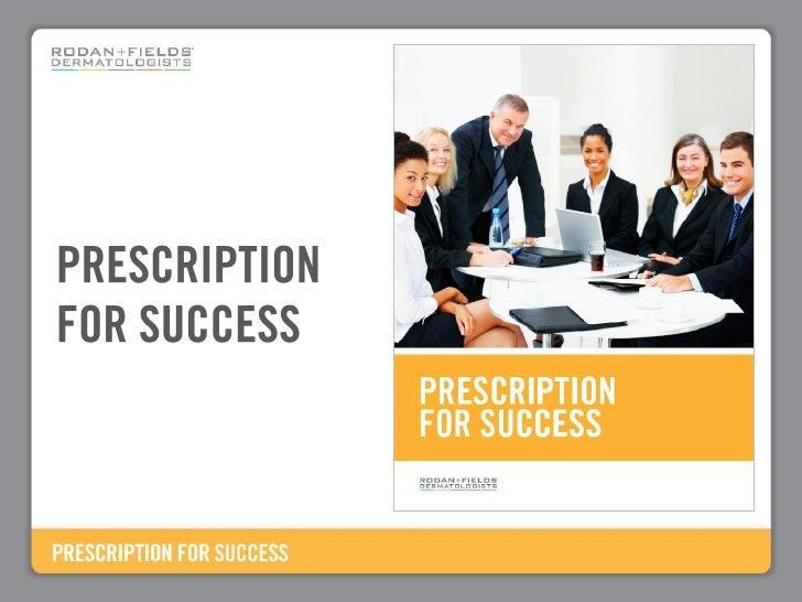 Prescription For Success Power Point 7.29.09[1]