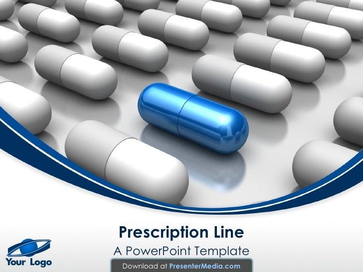 pharmaceutical powerpoint tempalte, Modern powerpoint