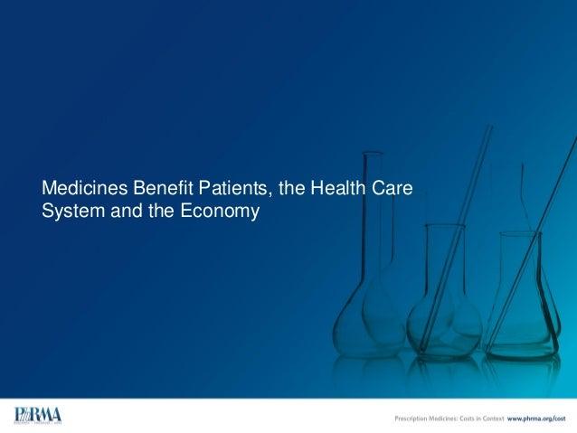 Prescription Medicines: Costs in Context  Slide 2