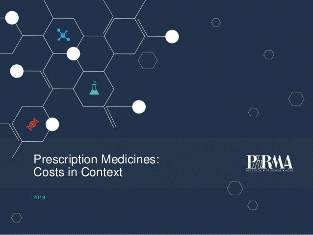 Prescription Medicines: Costs in Context 2019