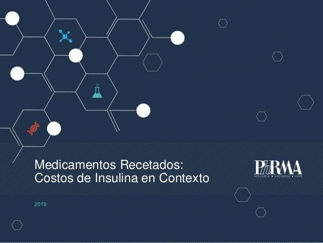 Medicamentos Recetados: Costos de Insulina en Contexto 2019