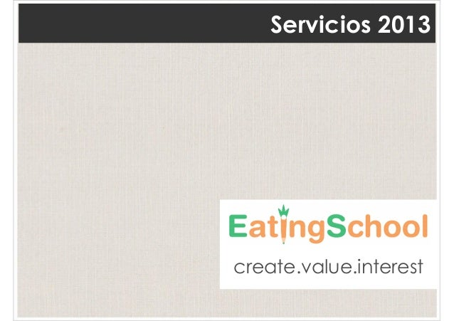 Servicios 2013create.value.interest