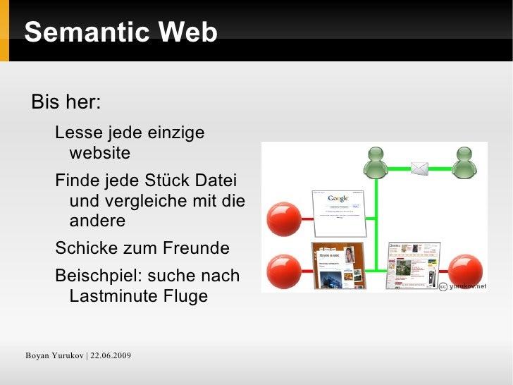 Web 3.0 <ul><li>Geschichte und Ziele