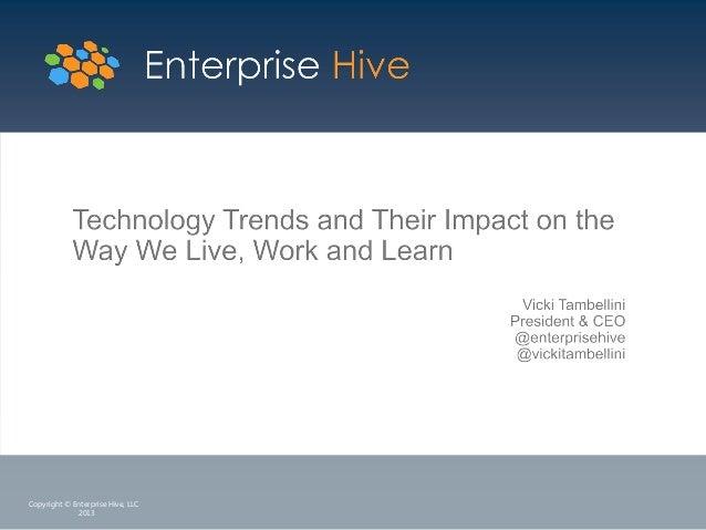 Copyright © Enterprise Hive, LLC 2013