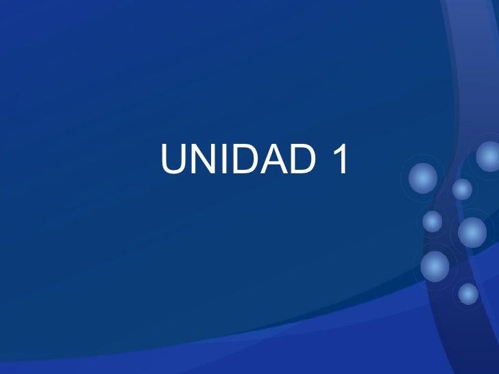 Sub Title UNIDAD 1