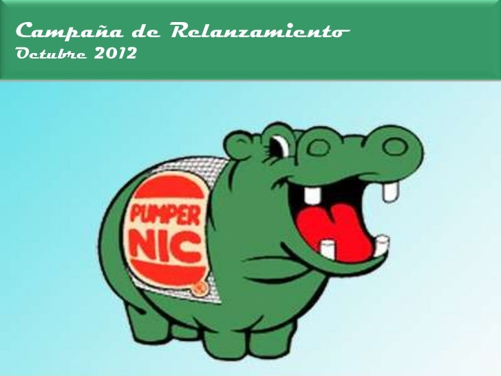 Campaña de RelanzamientoOctubre 2012