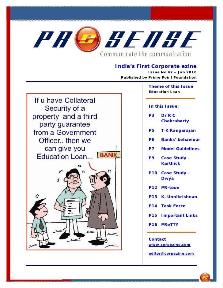 India's First Corporate ezine                Issue No 47 – Jan 2010   Published by Prime Point Foundation                T...
