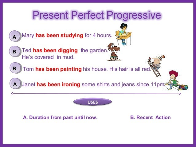 present perfect continuous The present perfect continuous tensetypical forms of this tense are as shown in:  see more | collins education.