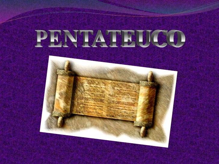 PENTATEUCO<br />
