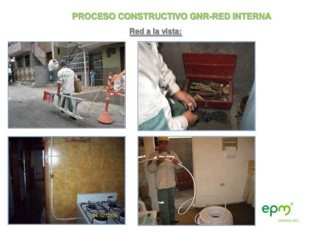 PROCESO CONSTRUCTIVO GNR-RED INTERNA          Red a la vista: