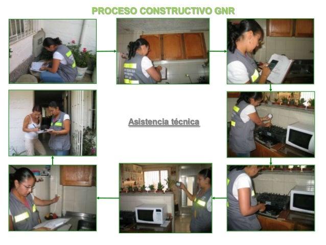 PROCESO CONSTRUCTIVO GNR      Asistencia técnica