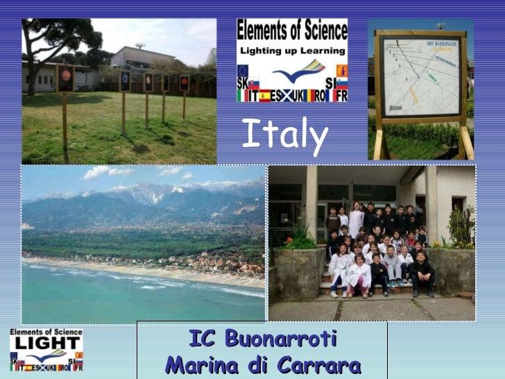 IC Buonarroti Marina di Carrara Italy