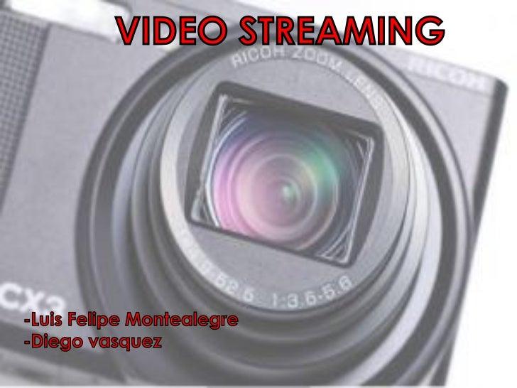 VIDEO STREAMING-Luis Felipe Montealegre-Diego vasquez