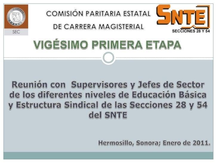 ETAPAS REQUERIDAS         DOCENTES                                PARA PROMEDIOUBICADOS EN EL NIVEL A O B                 ...
