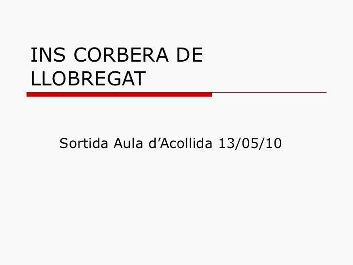 INS CORBERA DE LLOBREGAT Sortida Aula d'Acollida 13/05/10