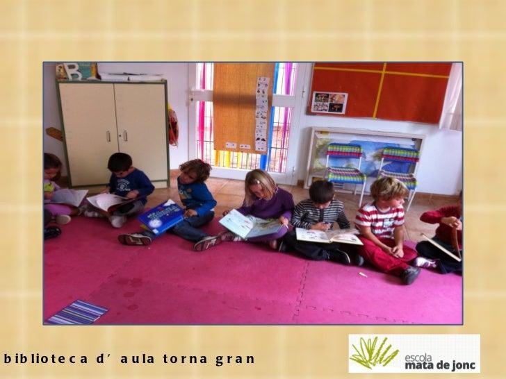 La biblioteca d'aula torna gran