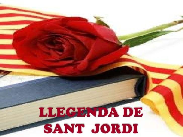 LLEGENDA DE SANT JORDI