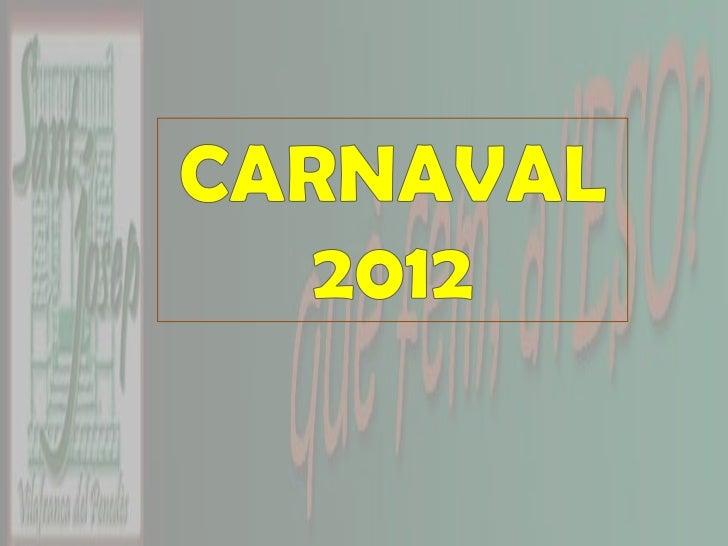 Carnaval 2012