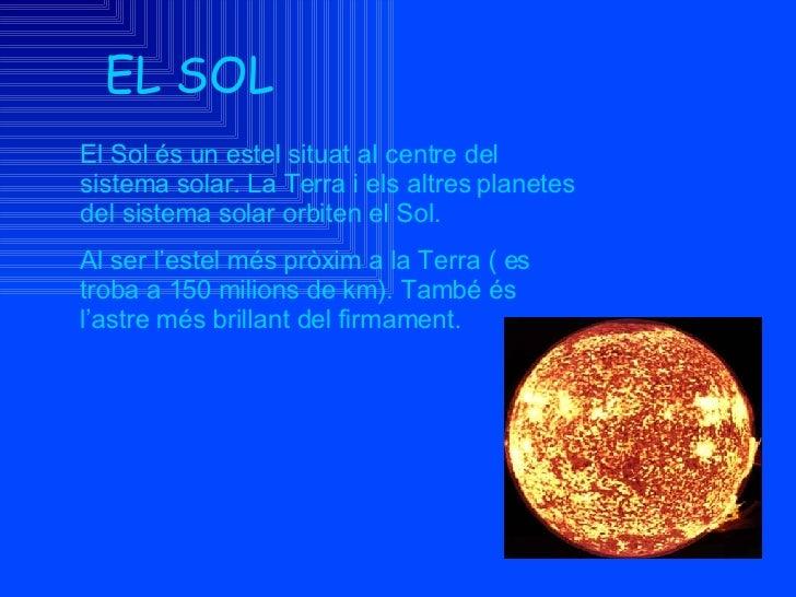 Sistema Solar Slide 2