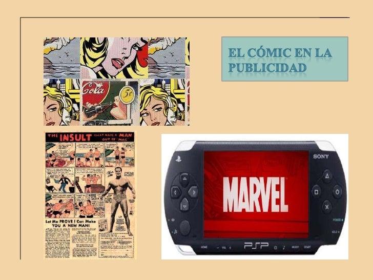 El cómic en la publicidad<br />