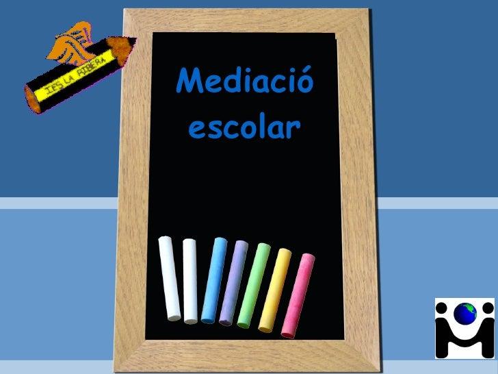 Mediacióescolar
