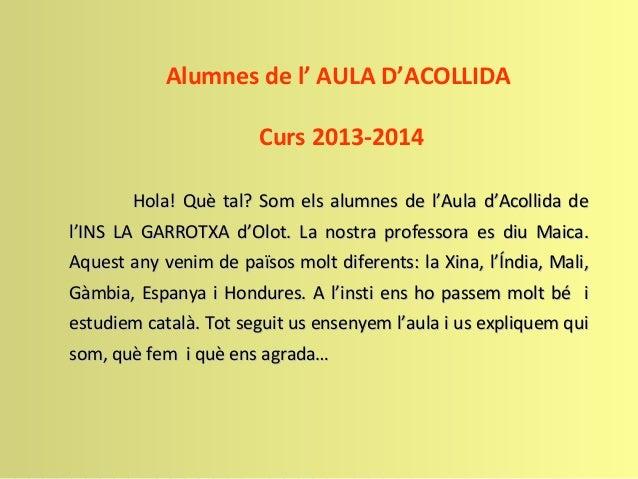 Presentació AA 2013-2014 Slide 2