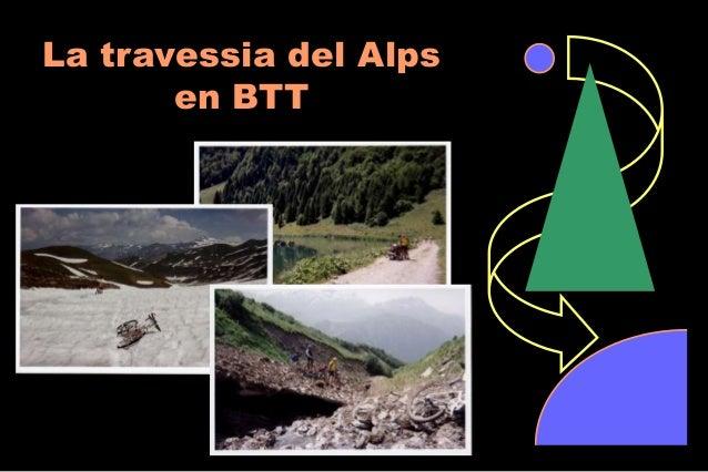La travessia del Alps en BTT