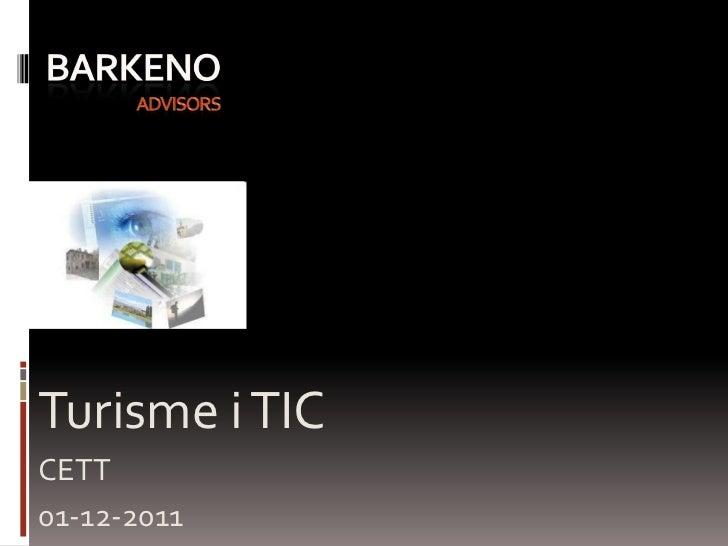Turisme i TICCETT01-12-2011