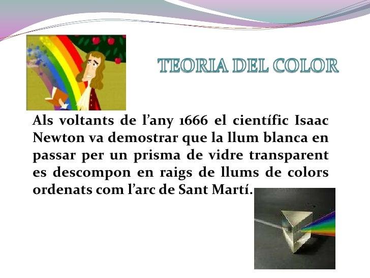 Teoria del color Slide 3
