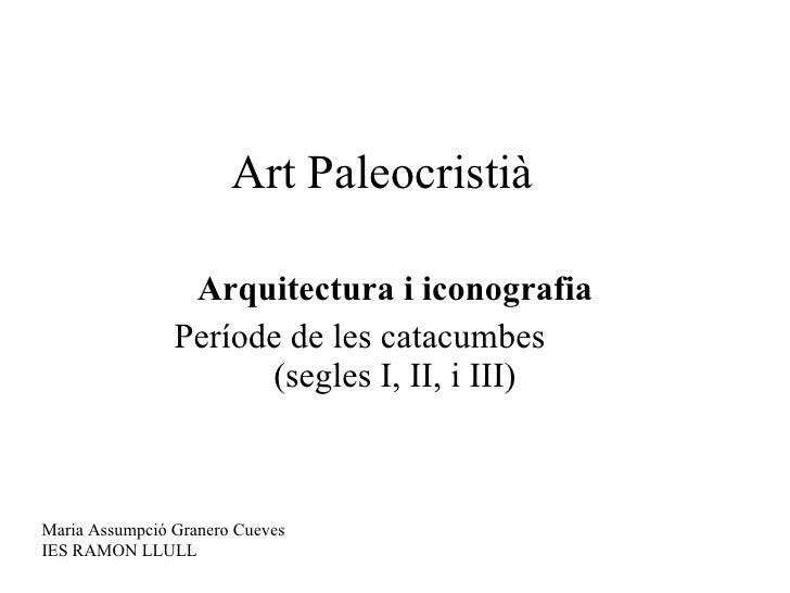 Art paleocristià