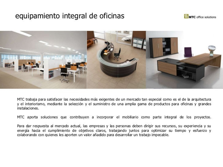 mtc office solutions equipamiento integral de oficinas