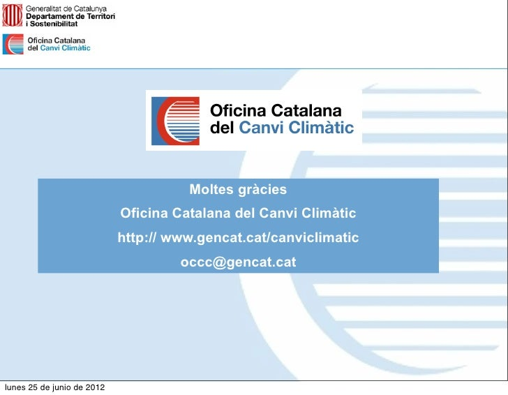 Escacc proc s de participaci for Oficina canvi climatic