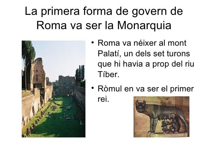 Presentació Govern De Roma Ppt Slide 2