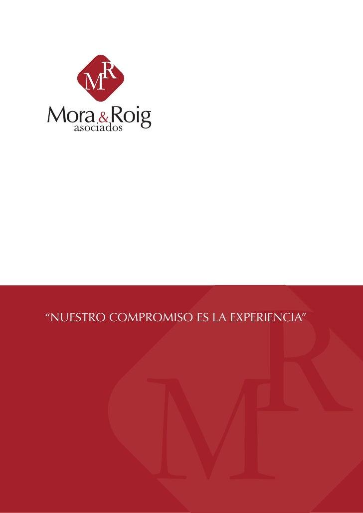 """""""NUESTRO COMPROMISO ES LA EXPERIENCIA""""                                              1"""