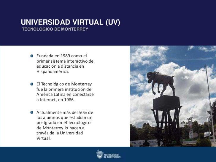 Doctorados en Ingenierías y   Maestrías en Ingeniería y CienciasUNIVERSIDAD VIRTUAL (UV)TECNOLÓGICO DE MONTERREY Ciencias ...