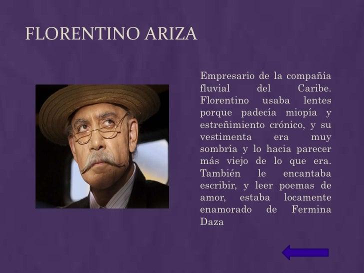 Presentacion Amor En Los Tiempos Del Colera