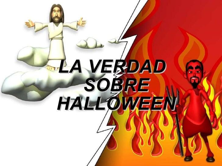 predicacion halloween
