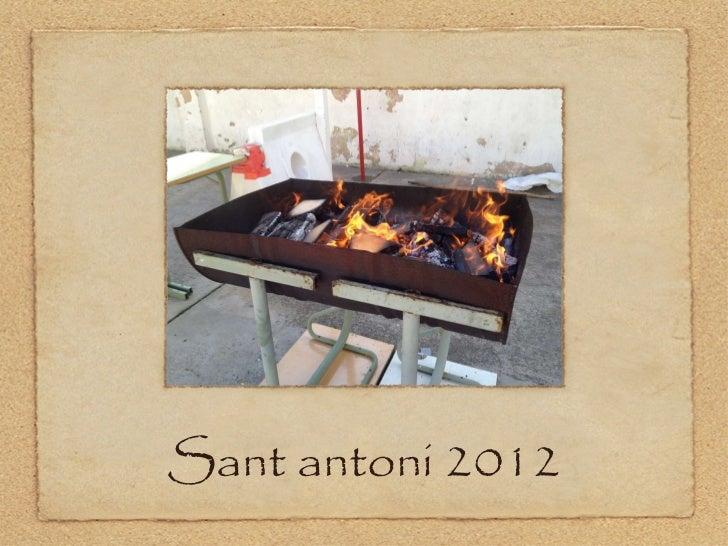 Sant antoni 2012