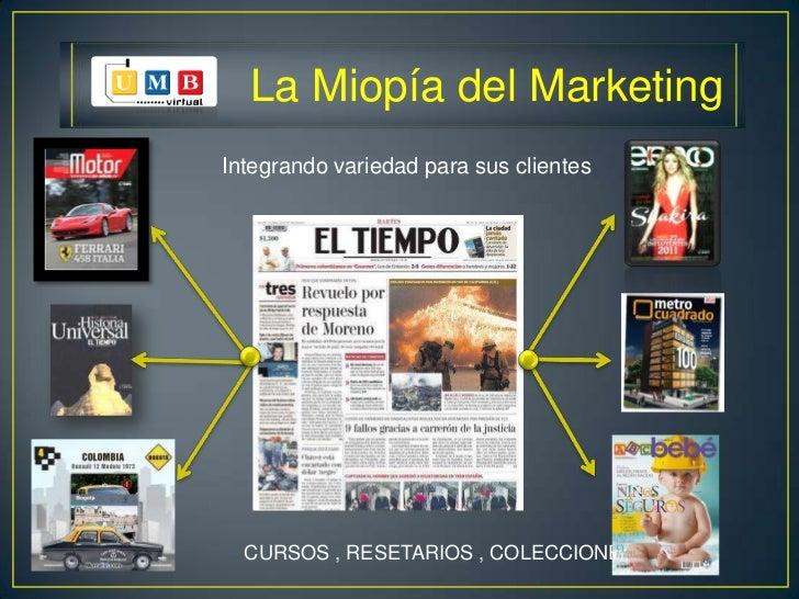 miopia del marketing