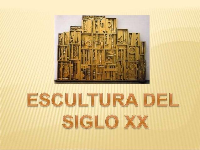 La escultura del Siglo XX y su introducción en el aula de Primaria a través detalleres prácticos.Para llevar a cabo el tal...