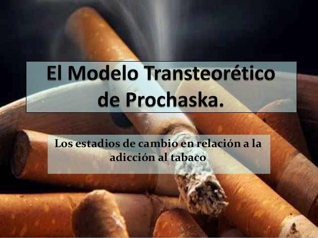 El Modelo Transteórico De Prochaska