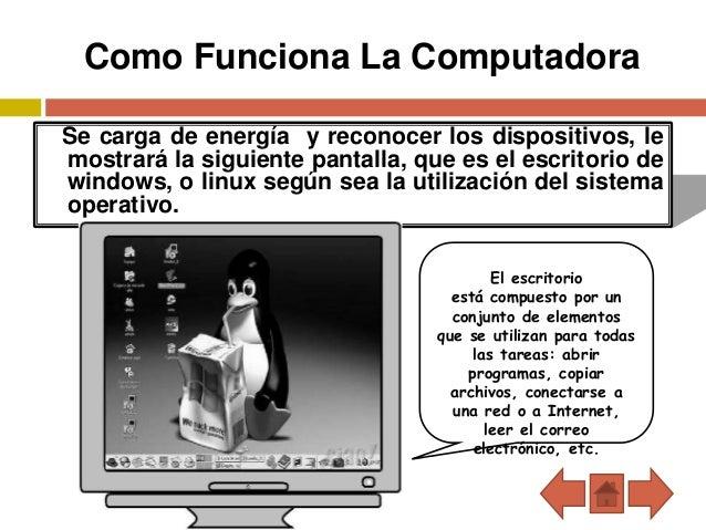 Conocimiento del computador ismelda for Como funciona una depuradora